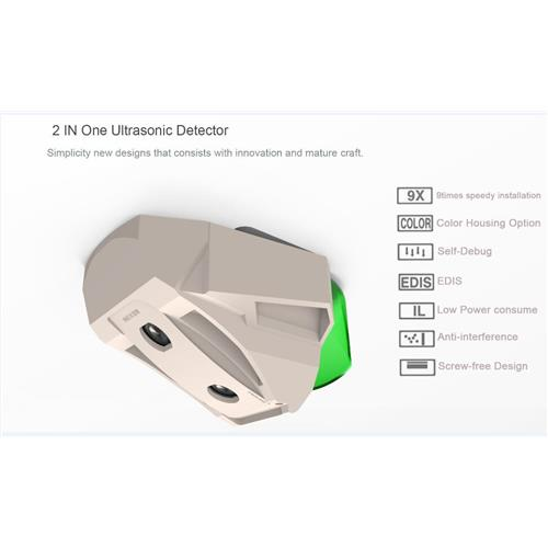 Ultrasonic detector for parking guidance system