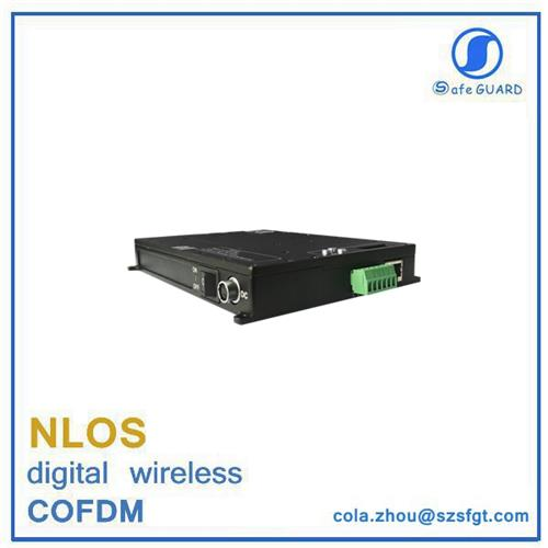 full duplex RS232/485 2-way data communication video transceiver