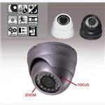Vandal-proof Dome Camera with Varifocal Lens, 30m IR VSC-303 series