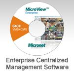 MicroView Enterprise Centralized Management Software with Intelligent Video Analytics