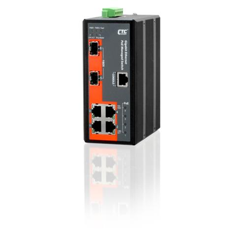 Industrial Managed PoE Switch - IGS-402SM-4PH24