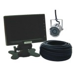 [VDI-2001CCSH] Color CCD Submergible Cable IR Camera (1/4〃 High Resolution)