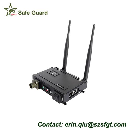 wireless video transmitter receiver microwave communications mobile security system