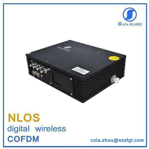 Professional 25w Handheld Powerful Fm Cofdm Video Transmitter