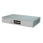 PS804 8-port 10M/100M Desktop PoE Fast Ethernet Switch
