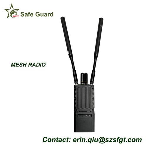 Tactical COFDM IP Mesh Radios For Law Enforcement