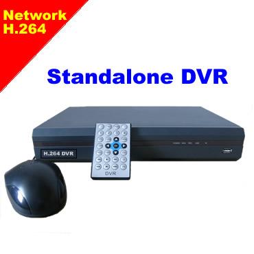 H.264 Standalone DVRs/ 8ch network stand alone DVR/ stand-alone DVR system