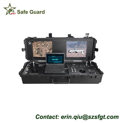 microwave video data ground control station for UAV communication
