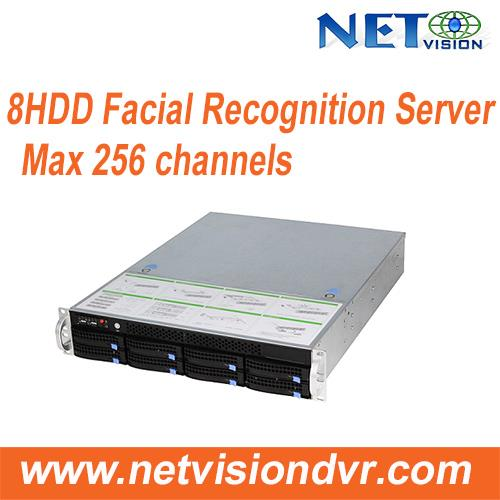 Facial Recognition Server Complete Solution Facial Recognition NVR/ NVSS8708MPro