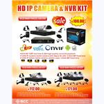 HD IP CAMERA & NVR KIT