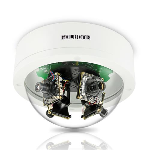 GOLBONG 8MP Multi-sensor Stralight Outdoor IP camera with color night-vision