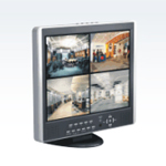 H.264 4CH 15'' Stand-alone DVR with LCD Monitor