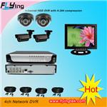 CCTV Camera system with network DVR