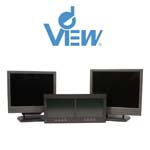 The Professional LCD monitor range from deView