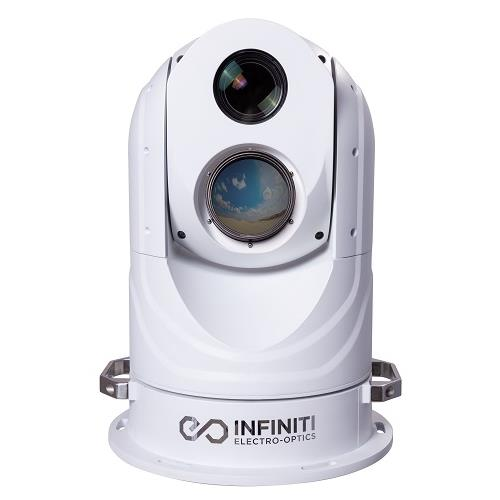 Gyro Stabilized HD Infrared Thermal Cooled/Uncooled Dual Sensor 49X VIS/NIR 4k HD IP 67 PTZ Camera