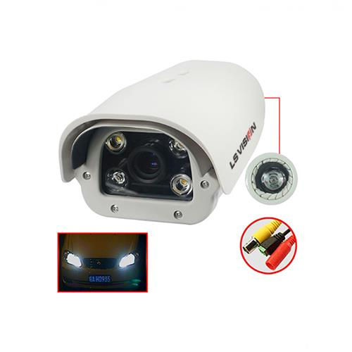 LS VISION  2.0MP IP The car license plate recognition camera with the speed of 200 km or less