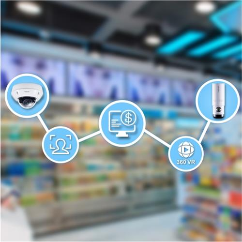 AI camera support unmanned convenience store solution