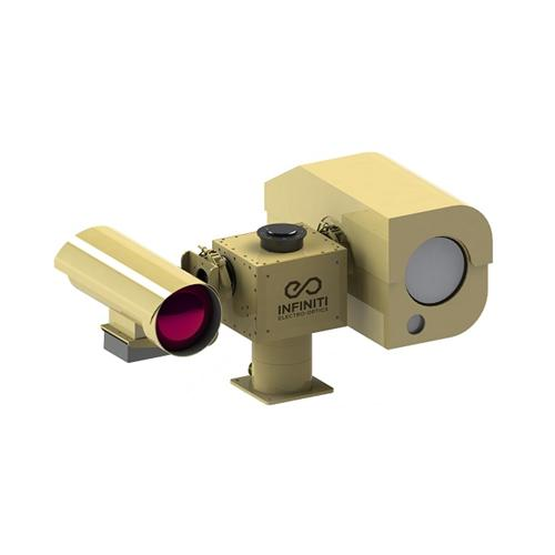 55km Cooled Thermal Camera Infrared Thermal PTZ IR Night Vision Multi Sensor Infrared Surveillance