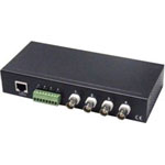 4-Channel Passive Video Balun / Transceiver  VPB400TRJ