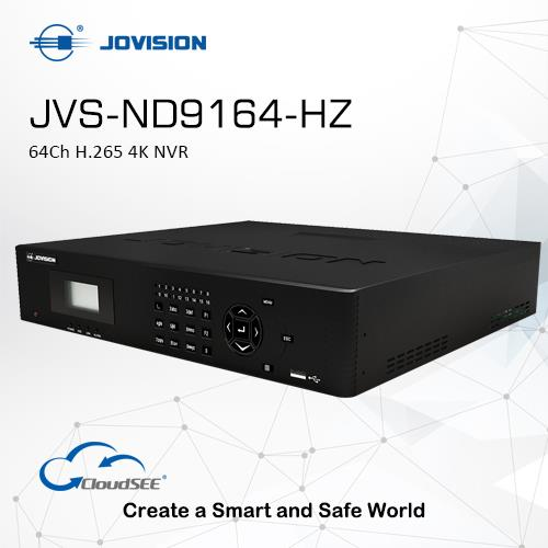 64Ch H.265 4K NVR(Network Video Recorder)