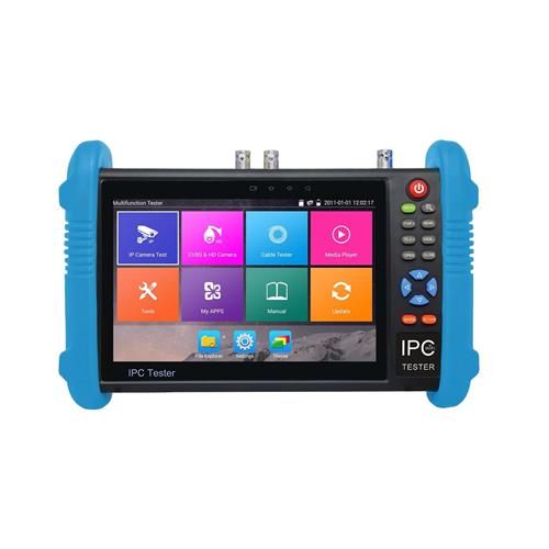 NEW 7 inch IPS touch screen 4K IP Analog CVI AHD TVI SDI EX SDI  tester IPC-9800ADHS PLUS