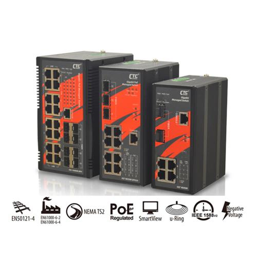 PoE Managed Switch-IGS+803SM-8PH24