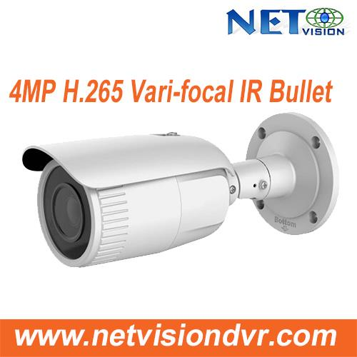 4MP H.265 IP67 Vari-focal WDR IR Bullet NV814MFV-IR