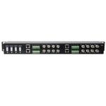16 Channel Passive Video Balun Transceiver - 1U  VPB1600TRJ