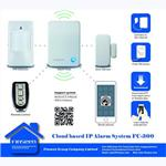 DIY wireless alarm 99 zones burglar IP Cloud alarm system
