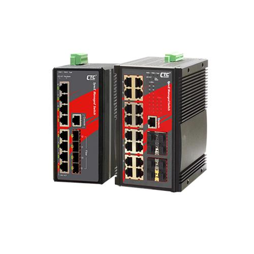 Industrial Ethernet Switch-IGS-804SM-SE