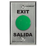 Request-to-Exit Buttons with Built-In RF Transmitters