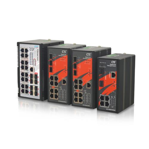 Industrial Managed PoE Switch - IGS-1608SM-8PH, IGS⁺803SM-8PH24, IGS⁺803SM-8PH, IGS-402SM-4PU
