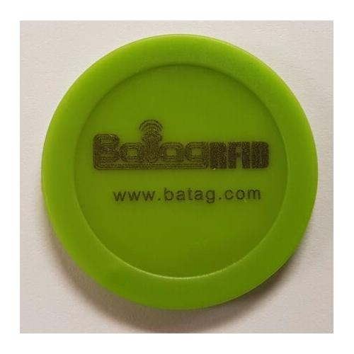 Batag RFID Parking ticket token OD30 HMA-250M-0S ABS tag