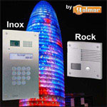 ROCK and INOX Color/B&W Video Doorphone