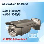 IB3 SERIES IP66 IR BULLET CAMERA