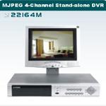 MJPEG 4CH Stand-alone DVR