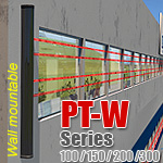 PT-W - Photoelectric Beam Enclosures (Wall mountable)
