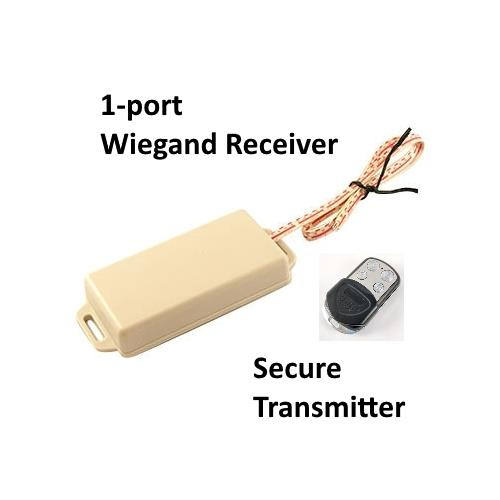 1-port Wiegand receiver with Secure Transmitter, Access Control