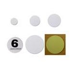 White PVC Coin Tag