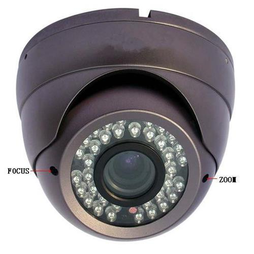 2.8-12mm varifocal IP 2Mp 1080P 1/2.5 CMOS dome camera