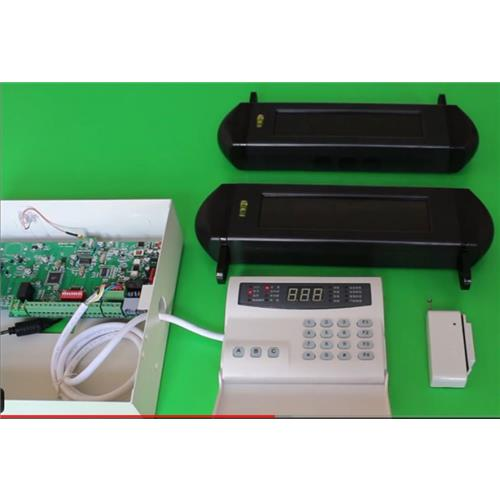 1000 zones wireless solar perimeter security alarm system