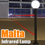 MALTA Infrared  Lamp Tower