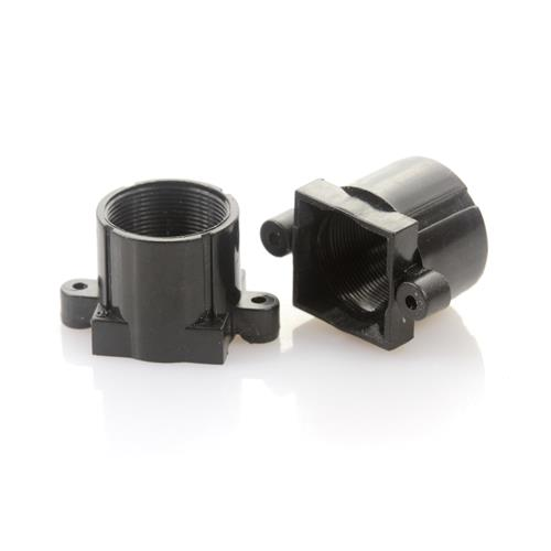 Plastic M12x0.5 mount Lens Holder, 18mm fixed pitch holder for board lenses, height 13.2mm