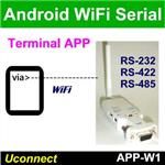 Android Terminal Software via Bluetooth or WiFi