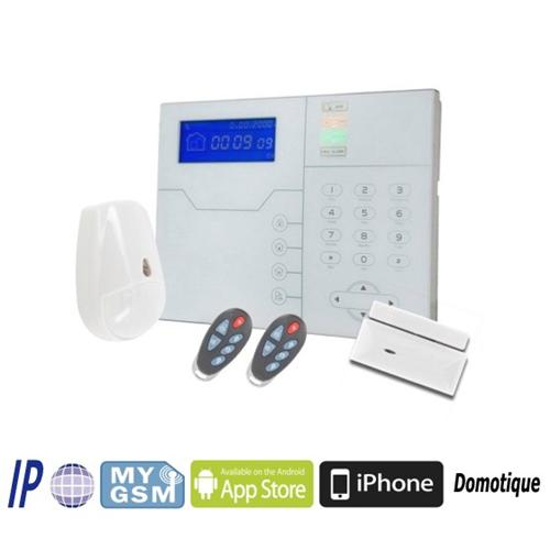 TCP/IP GSM SECURITY PROTECTION ALARM CONTROL PANEL