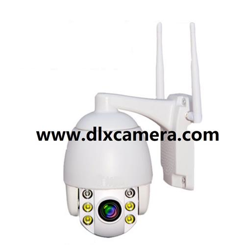 1080p Outdoor water-proof 5X zoom WIFI IP IR SD card Two ways audio PTZ dome camera