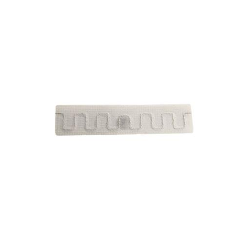RFID Woven Fabric Laundry Tag, white,UCODE 7 (UHF), 860-960MHz, Read/Write