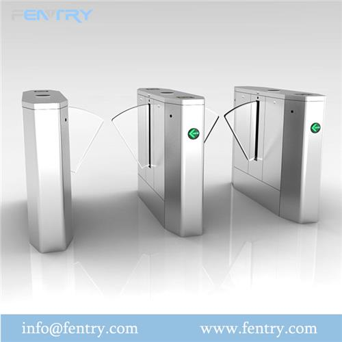 ESD flap turnstile Barrier Staff exit and entry control
