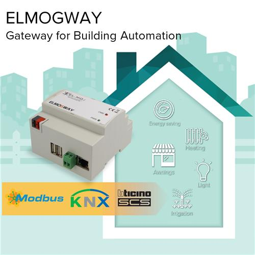 ELMOGWAY - gateway for building automation