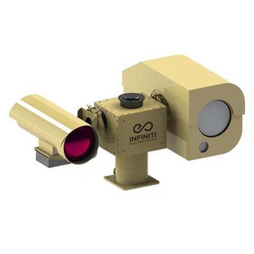 25km Uncooled Thermal LWIR Infrared PTZ surveillance Thermal Camera Gryp + 15km ZLID IR LAser